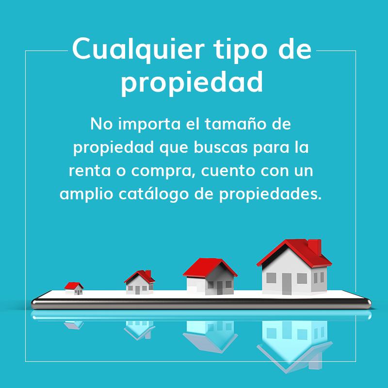 Catálogo de propiedades