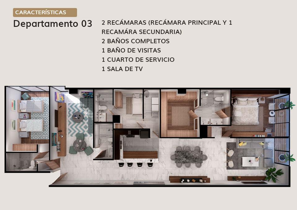 Departamento 03