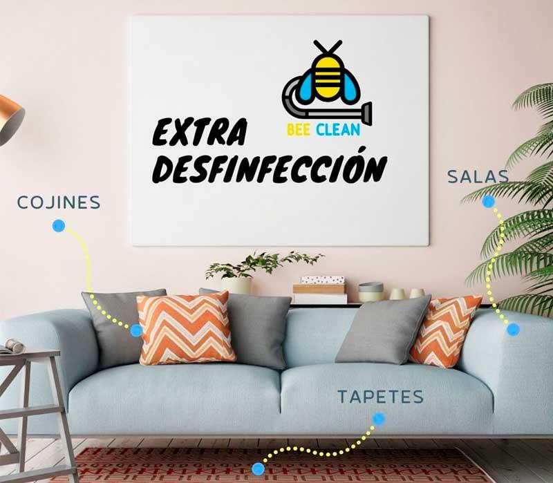 Extra desinfección