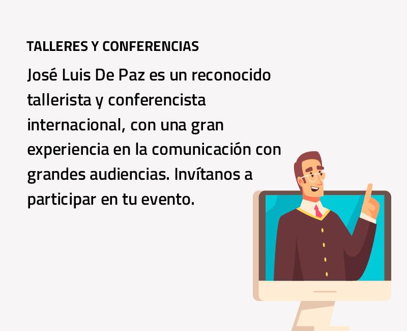 Talleres y conferencias
