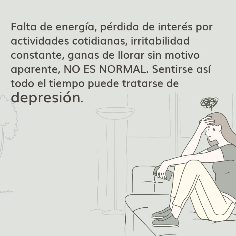 Puede ser depresión