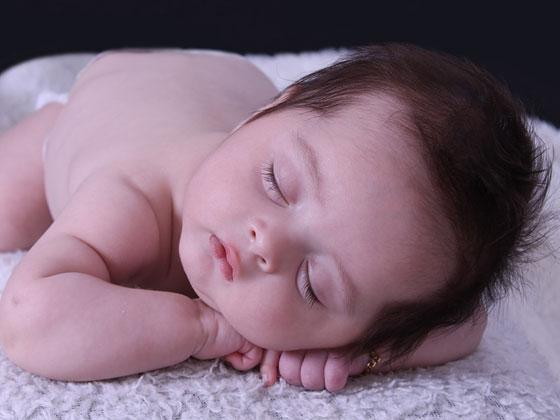 retrato de bebé