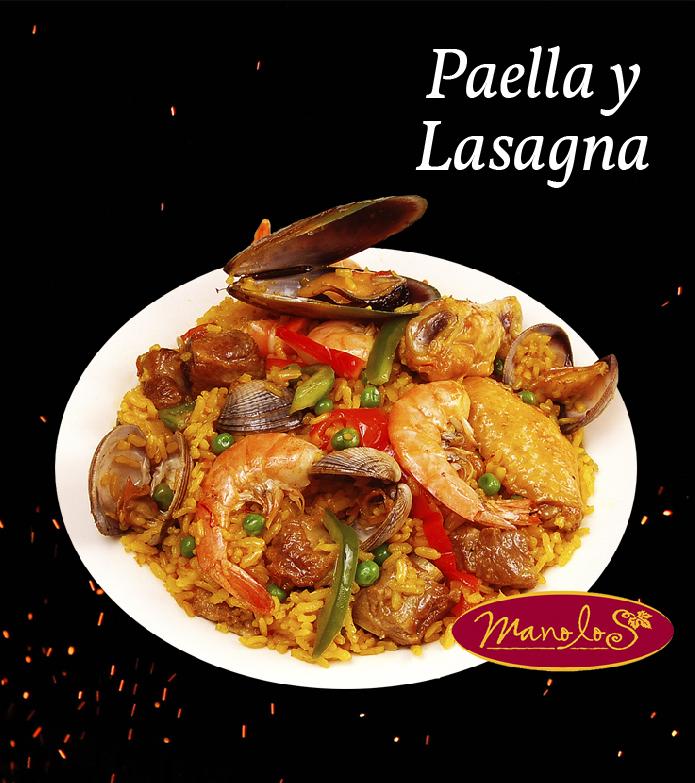 Paella y Lasagna